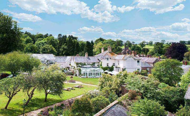 Summer lodge country house hotel and spa building dorset uk