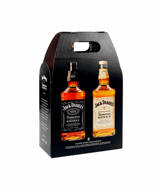 Tennessee & Jack Daniels Honey Whiskey Twin