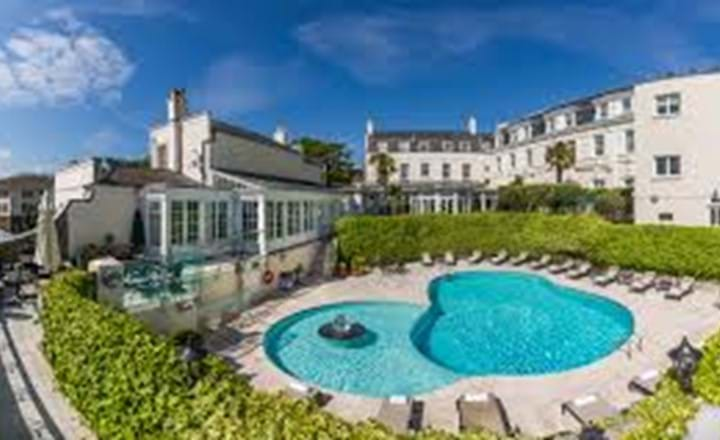 swimming pool at the old government house hotel and spa guernsey