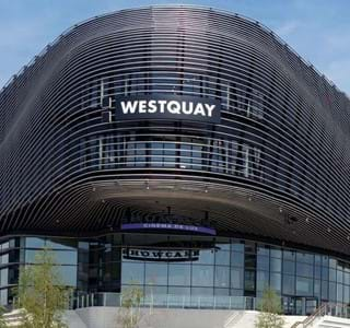 Westquay shopping centre southampton uk