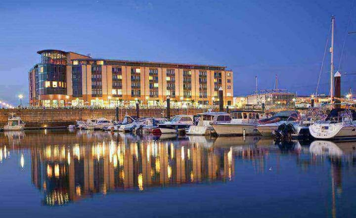 Hotel Raddison Blu in Jersey Channel Islands