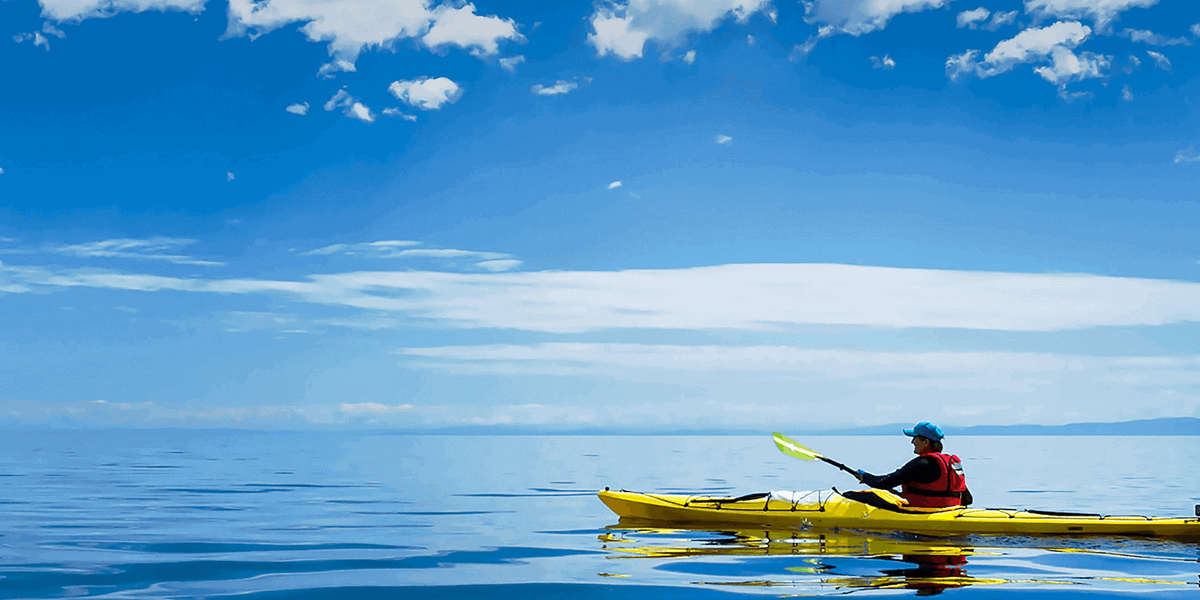 Kayaking in Jersey with Condor Ferries