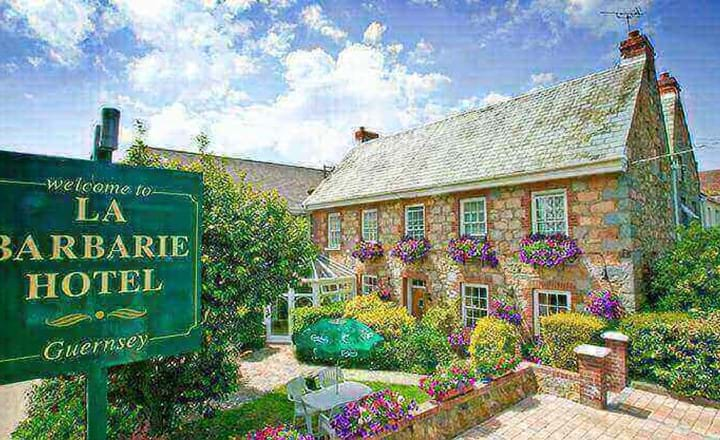 la barbarie hote in guernsey in the sun channel islands