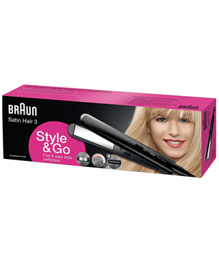 Satin Hair Travel Straighteners