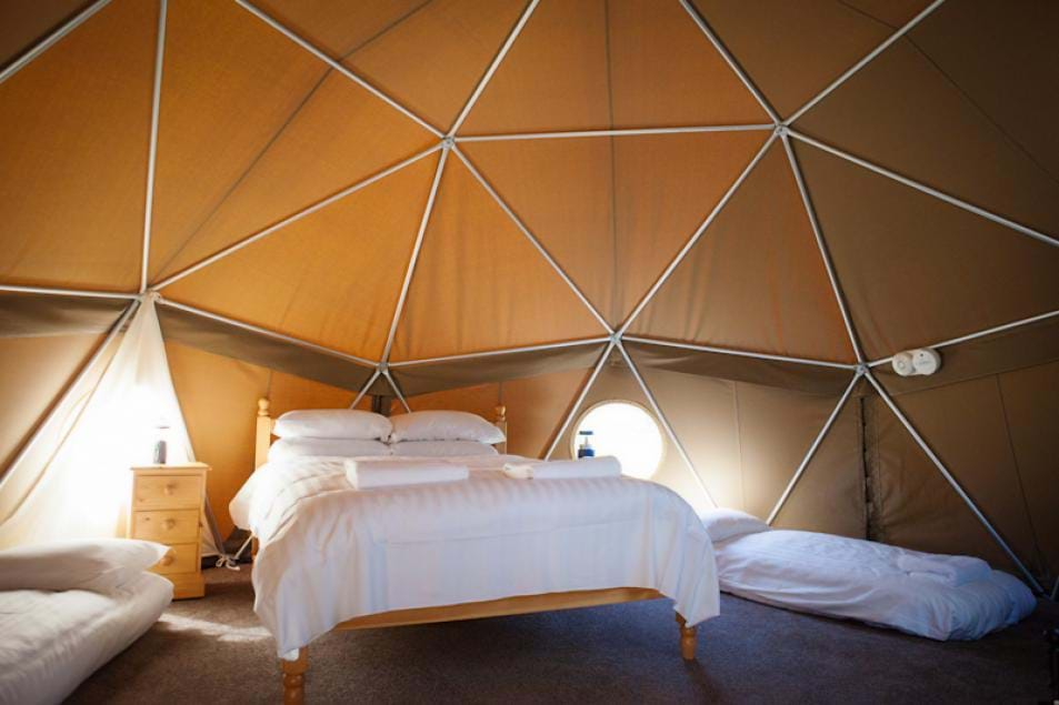 luxury glamping durrell wildlife camp jersey channel islands