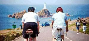 Cycling in the Channel Islands