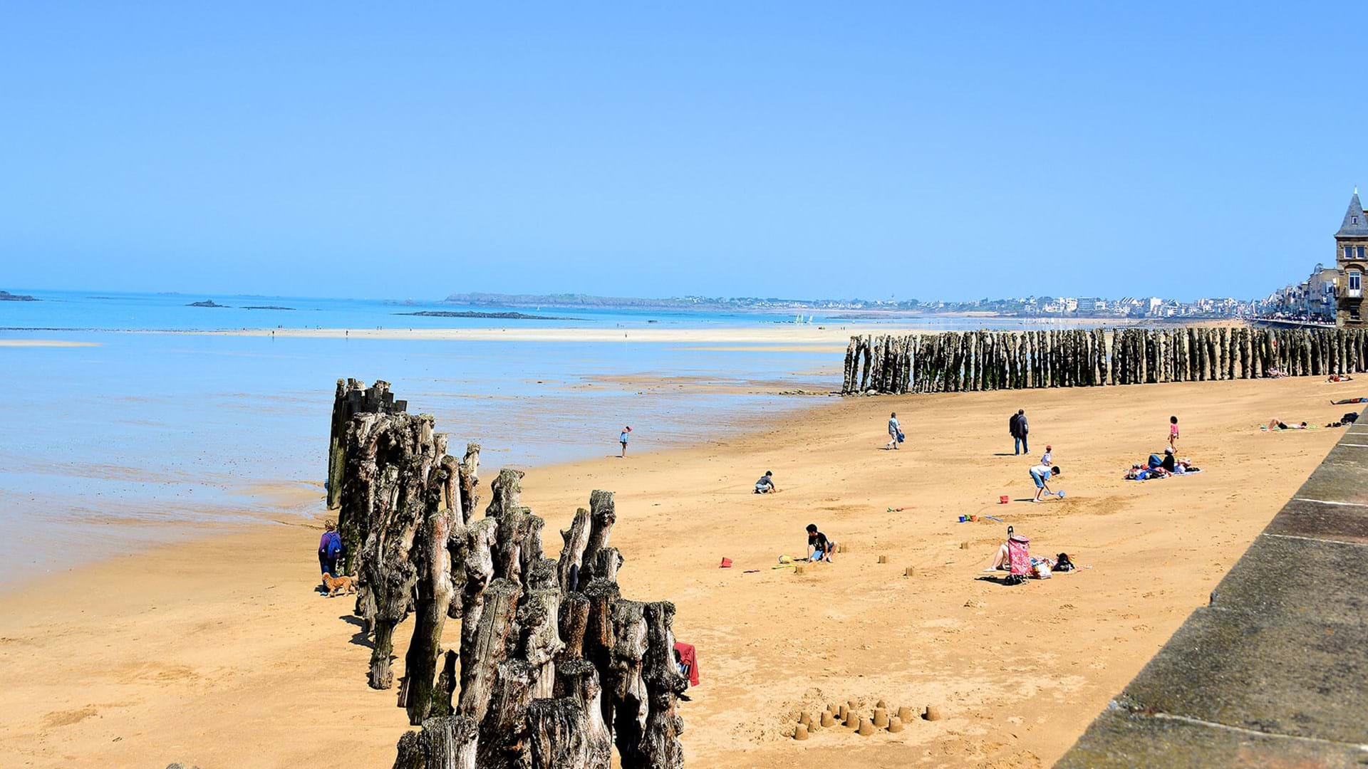 Top beaches St Malo
