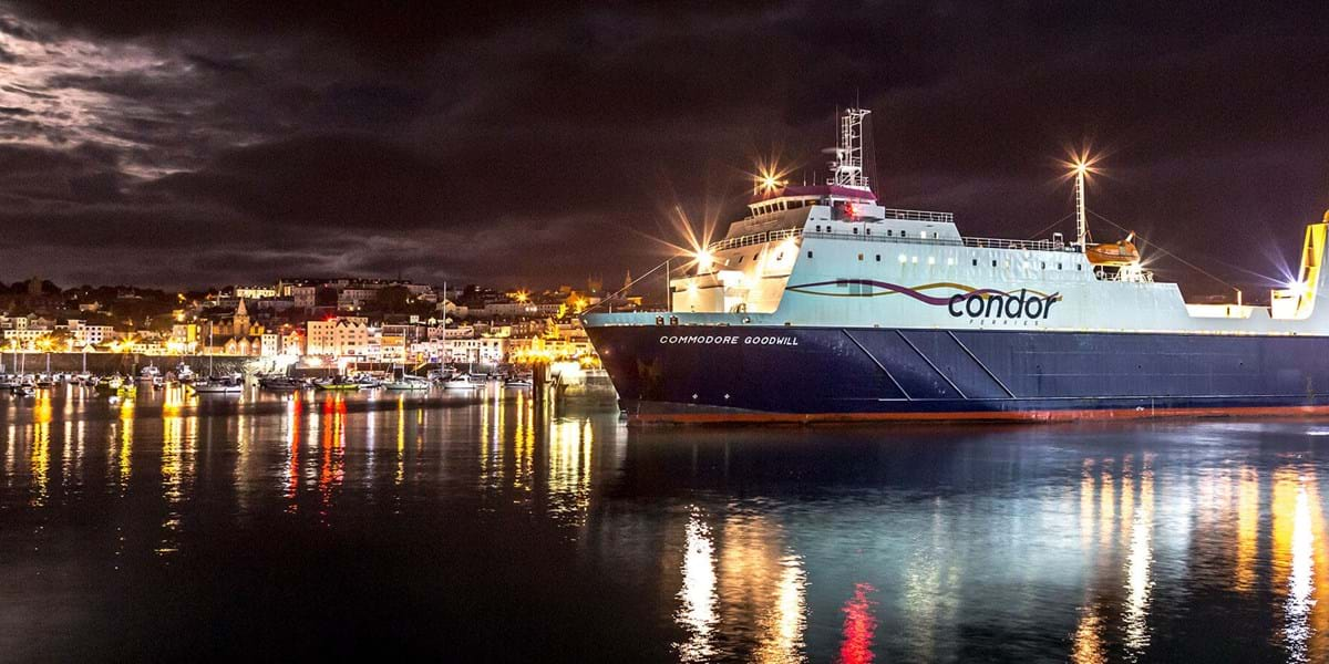 Condor Ferries Freight Booking online