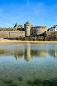 st malo history museum fort national blue sky