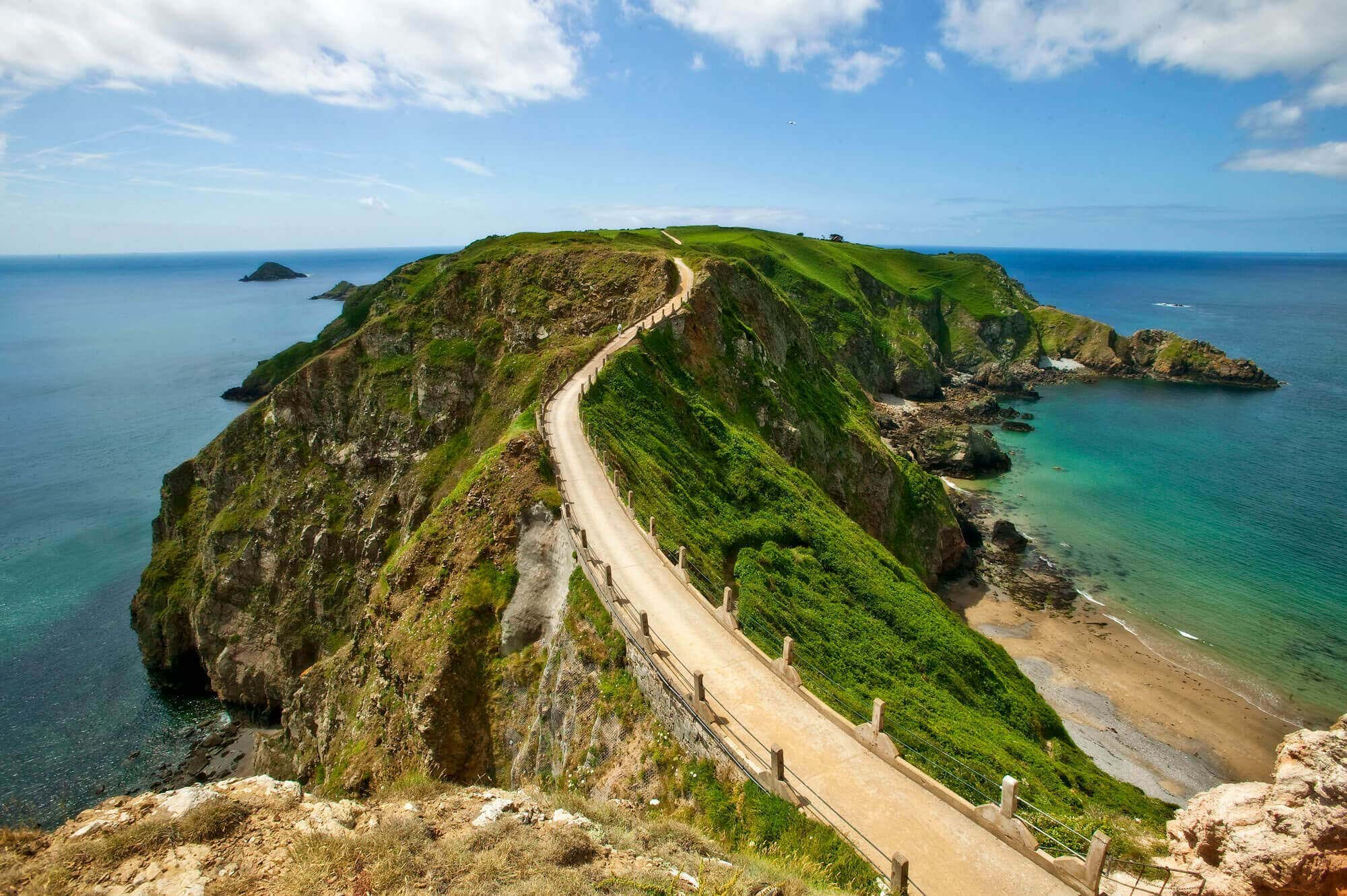 la coupee sark guernsey channel islands
