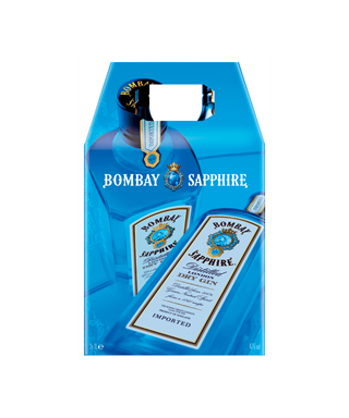 Bombay Sapphire London Dry Gin Twin