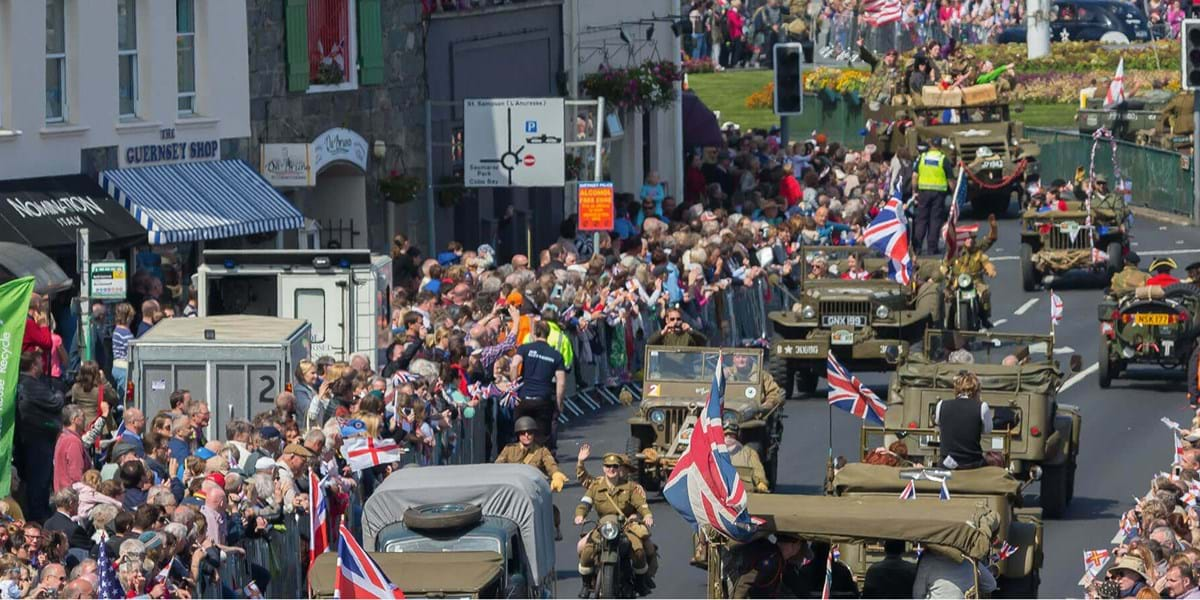 Celebrate Liberation Day in Guernsey