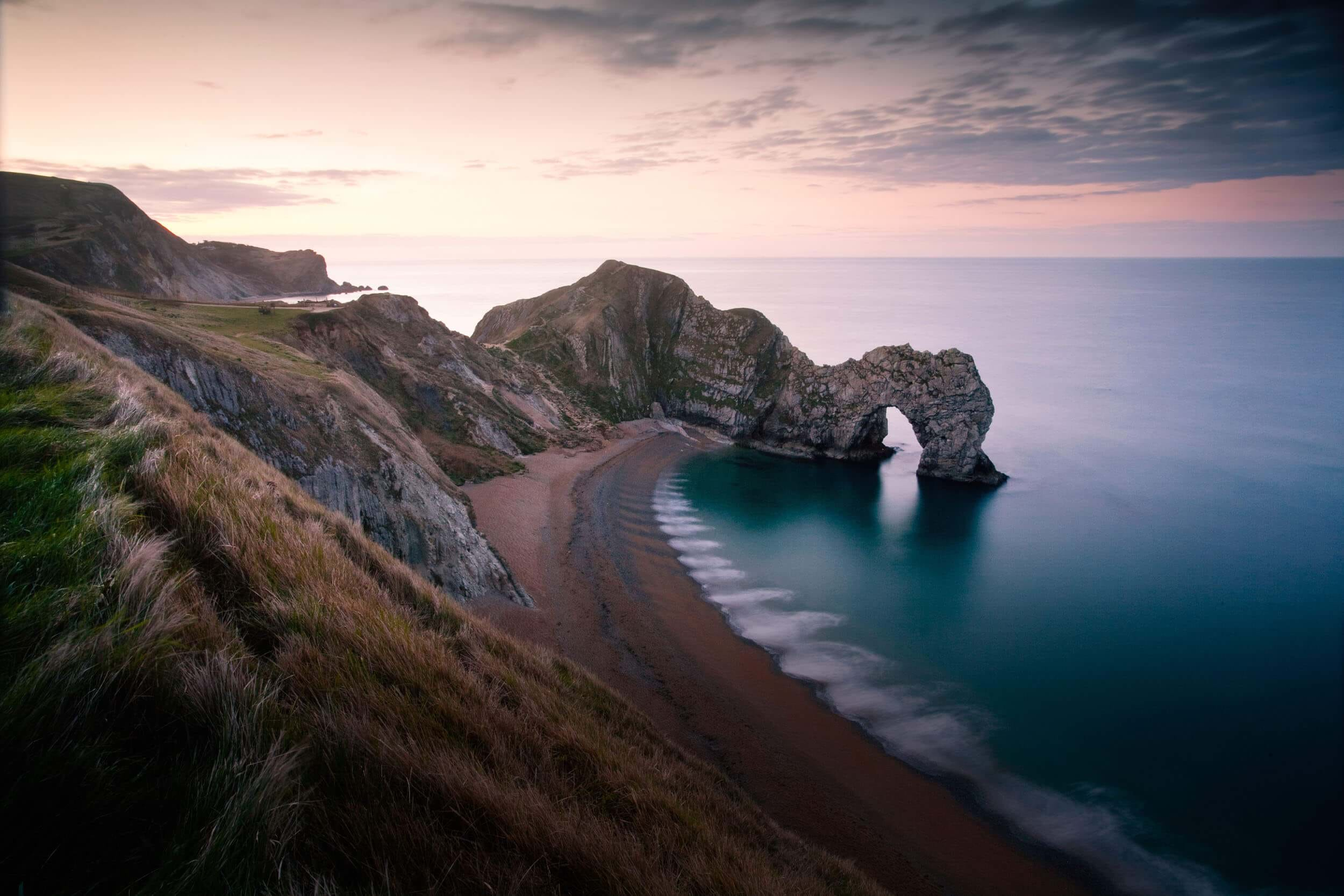 Durdle Door at Dusk