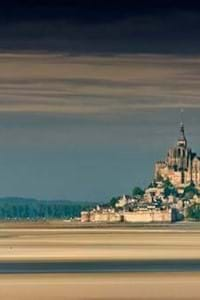 picturesque view of the mont saint-michel in normandy